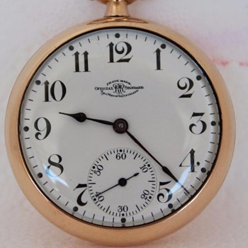 @ rniederman.... 1918 Ball RailRoad Official Standard Pocket Watch	 - Pocket Watches