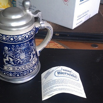 Vintage German Gerz Beer Stein