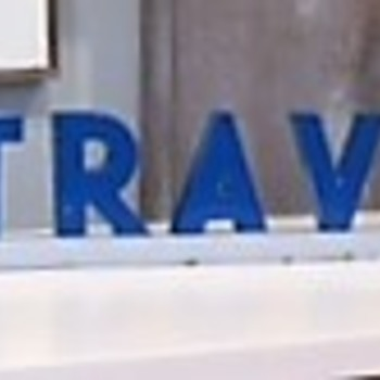 standard oil as you travel as us metal letters sign marquee - looking for info