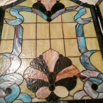 FIRE PLACE SCREEN - Art Glass