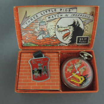 Big Bad Wolf Pocket Watch - Wristwatches