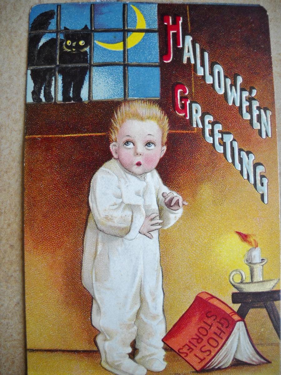 old halloween postcards | collectors weekly
