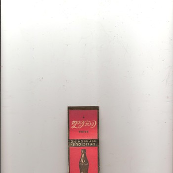 Coca-Cola Matchbook - Coca-Cola