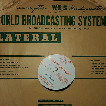 World broadcasting system - Records