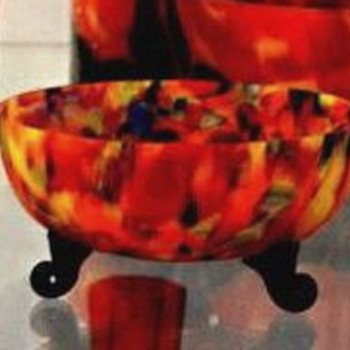 A revelation from an assortment item with several attributions, putting to rest the Butler Brothers single producer groupings - Art Glass