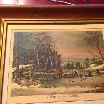 currier & ives picture - Posters and Prints