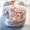 Japanese Satsuma Porcelain Water Jar /Circa 1920's