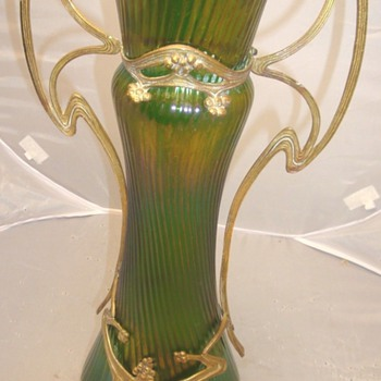 bohemian glass, not? - Art Nouveau