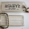 Martz Trailways Bus Luggage Tags….