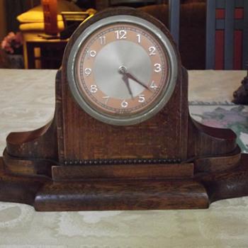 1940's  German Art Deco Mantel Clock