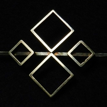 Mid-Century Modern NIELS ERIK FROM Brooch Sterling