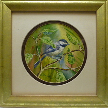 Bird Watercolors by Jack B. Sholund, 1991 - Fine Art