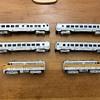 """1955 HObbyline train set #461 """"The California Zephyr."""