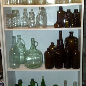 antique bottles - Bottles