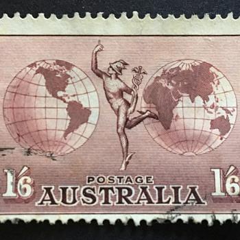 Australia stamp  - Stamps