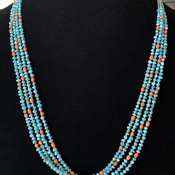 Sleeping Beauty Necklace - Costume Jewelry