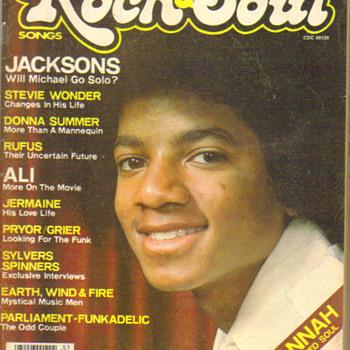 vintage Rock & Soul magazine Micheal jackson cover - Music Memorabilia