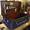 Military officer's trunk reconditioned
