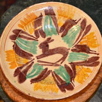 Plate from Mexico - Talavera de Guanajuato - Pottery