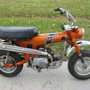 1971 Honda CT70H (4 speed) Mini Trail 70 - Motorcycles