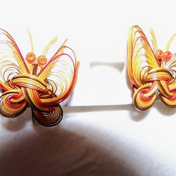 Interesting earrings - Costume Jewelry