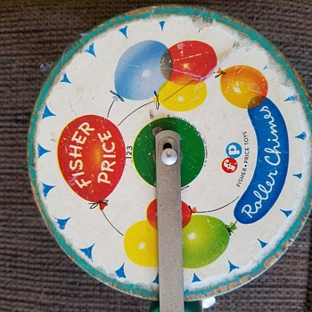 Fisher Price Roller Chime #123 - Toys