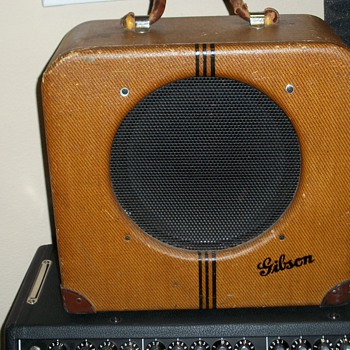 My 1937 Gibson EH-150 Guitar Amp - Guitars