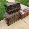 Trunks and suitcases