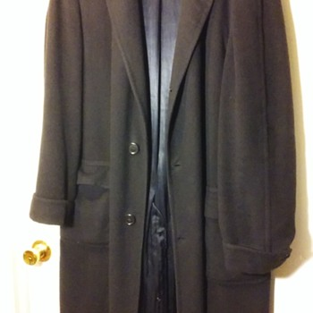 old cashmere men's dress/trench coat - Mens Clothing