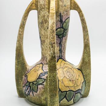 My signed Paul Dachsel Amphora vase C 1900. - Art Nouveau