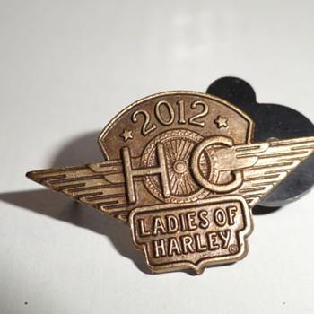 1986 & 1983 Harley Davidson Pins - Medals Pins and Badges