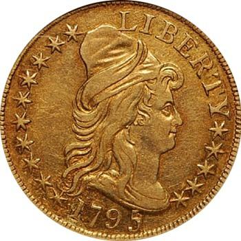 1795 $5 Gold Half Eagle - US Coins