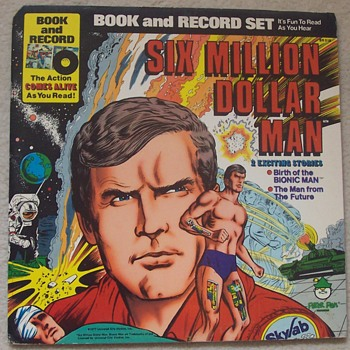 'Six Million Dollar Man'  - Records