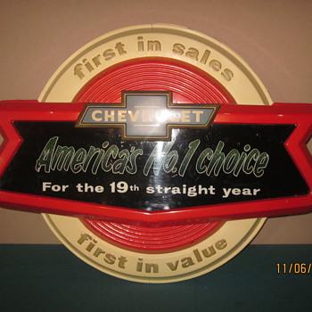 Chevrolet Dealership sign - Signs