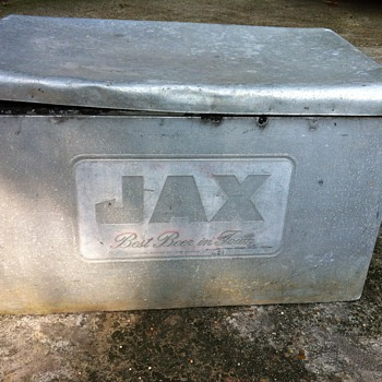 Jax Brewery Aluminum Ice Chest - Breweriana
