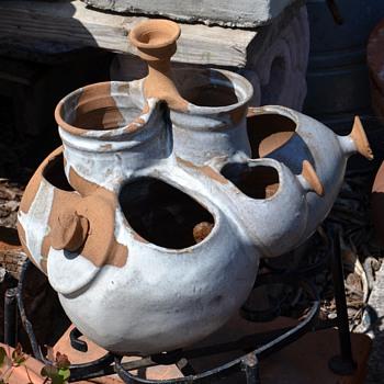 Sculptural Studio Pottery Fountain - Pottery