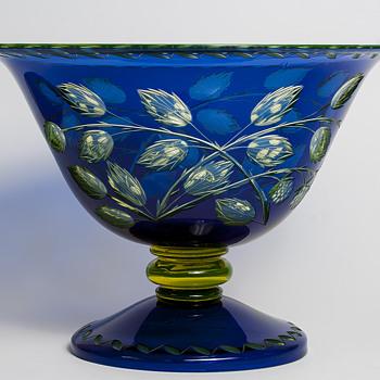 big cut Loetz tango PN III-282/I - Art Glass