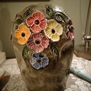Studio Vase unknown    - Pottery