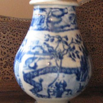 Make-do Sugar Shaker ca.1850 - China and Dinnerware