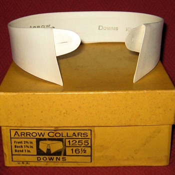 Vintage 1920's Arrow Shirt Collars - Accessories