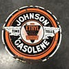 Johnson Gasolene sign with Ehtyl
