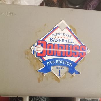 1993 Edition Series 1 Donruss Major League Baseball  - Baseball