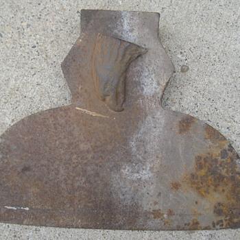 Broadhead ax unknown mftr