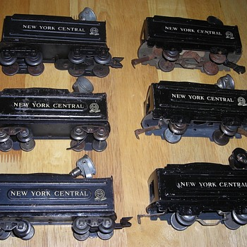 Lighted Marx Tinplate Tenders - Toys