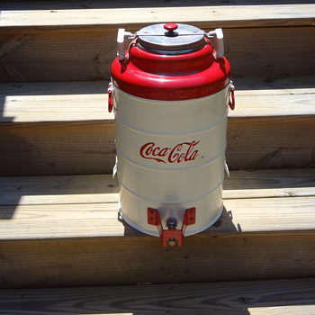 Mystery of the unsolved Coca Cola dispenser