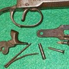 Percussion Pocket Pistol in Parts