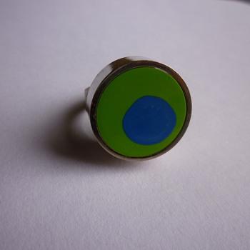 Modernist Danish ring