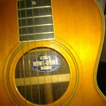 Howe-orme guitar - Guitars