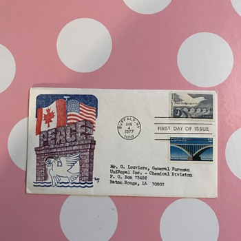First Day Issue Stamps and Letters - Stamps