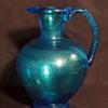 Blue Murano Glass Pitcher